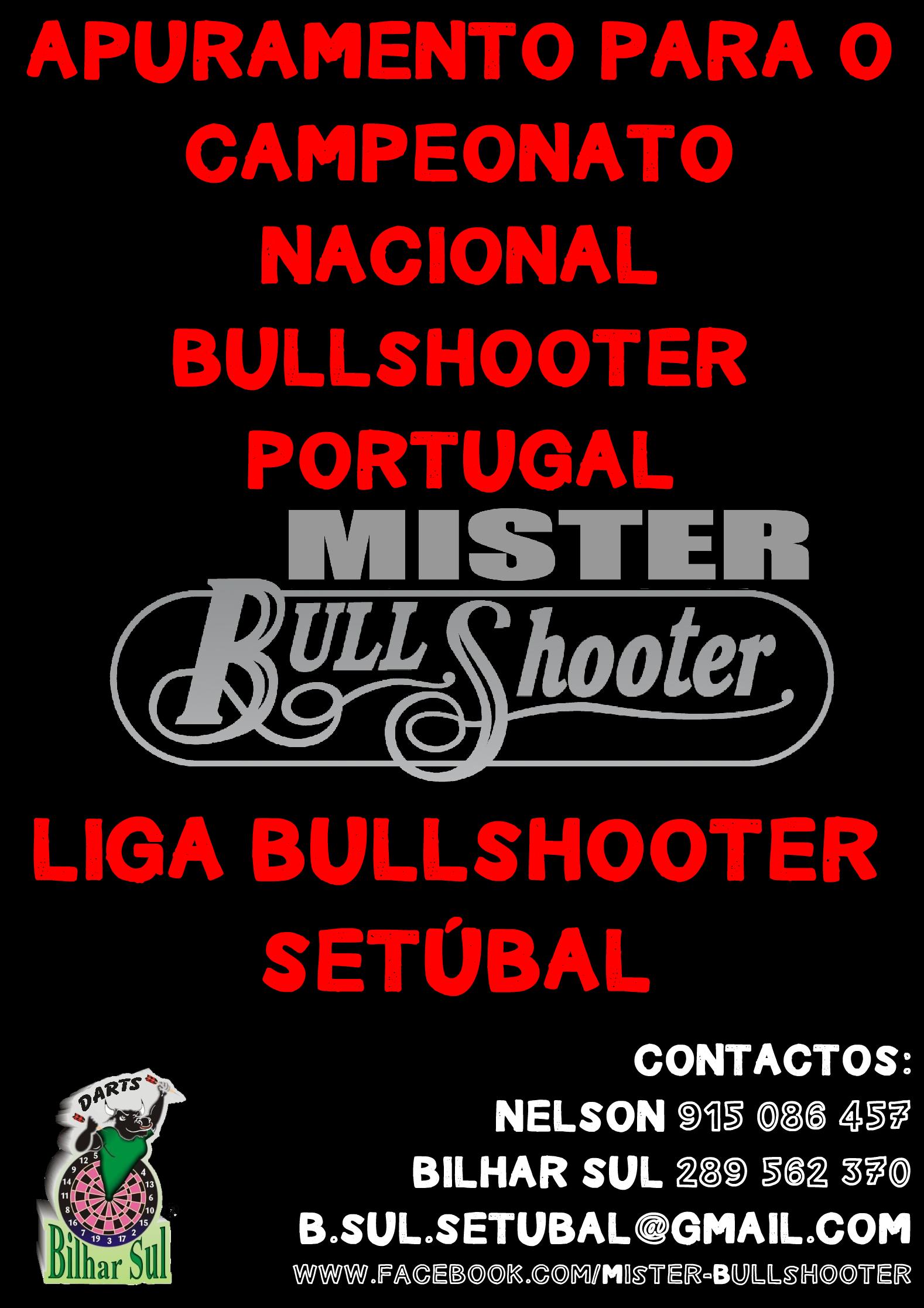 Apuramento para o Campeonato Nacional Bullshooter Portugal
