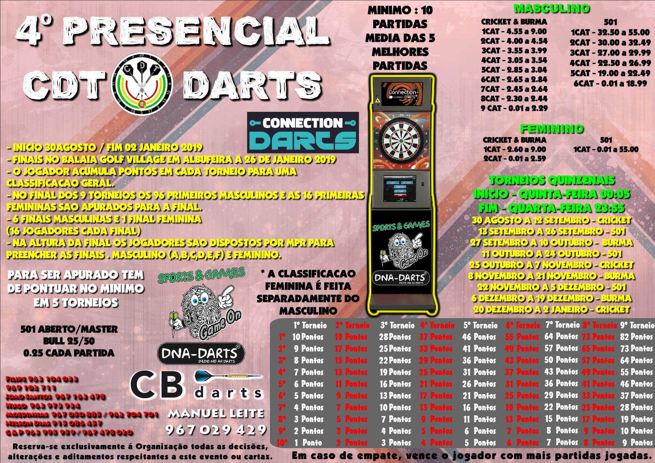 4º Presencial CDT Darts