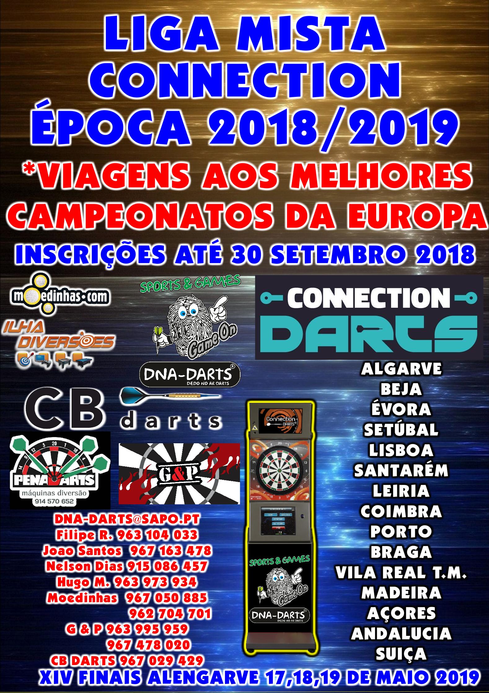 LIGA MISTA CONNECTION ÉPOCA 2018/2019