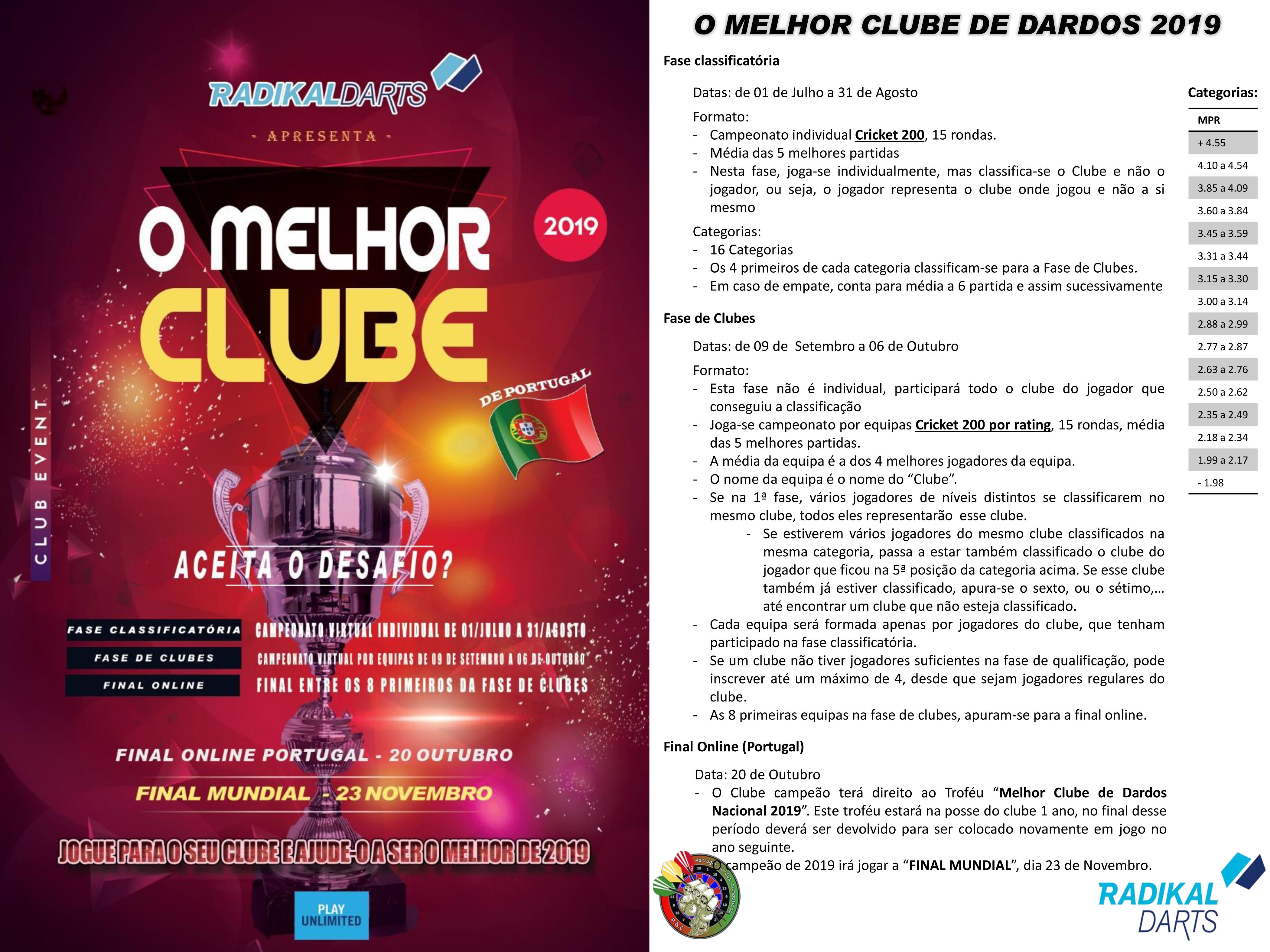 O MELHOR CLUBE