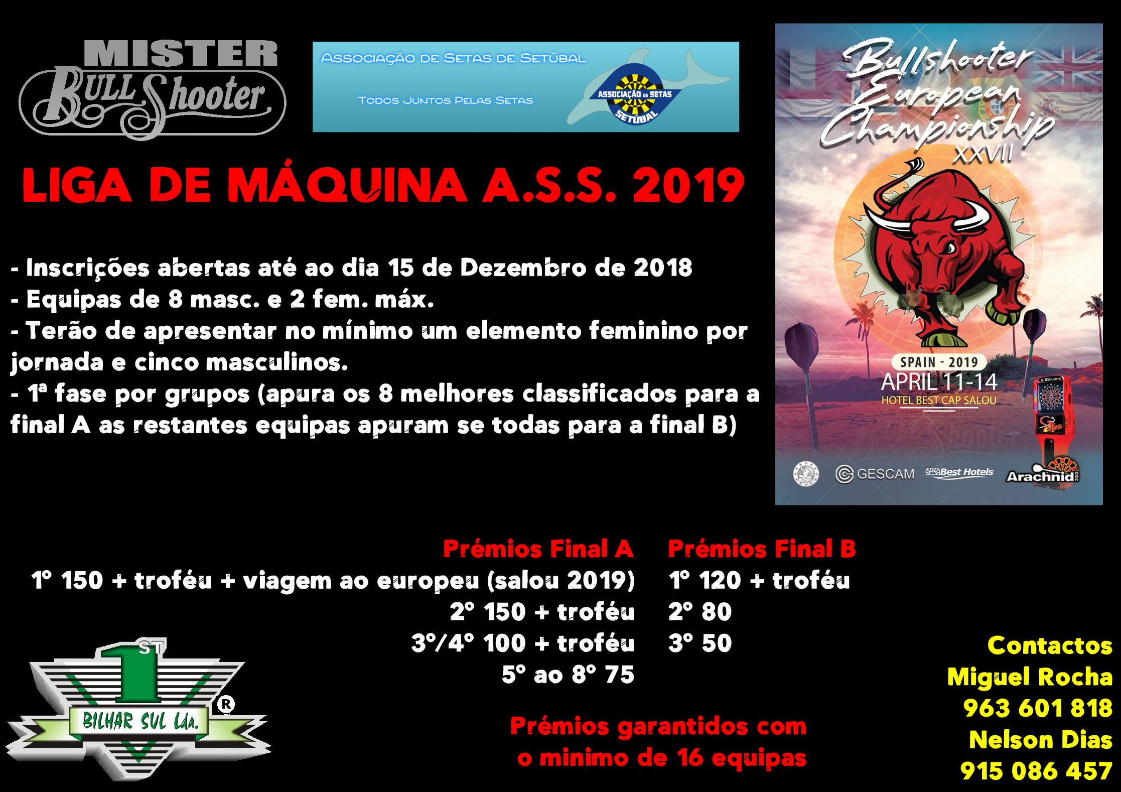 Liga de Máquina A.S.S. 2019