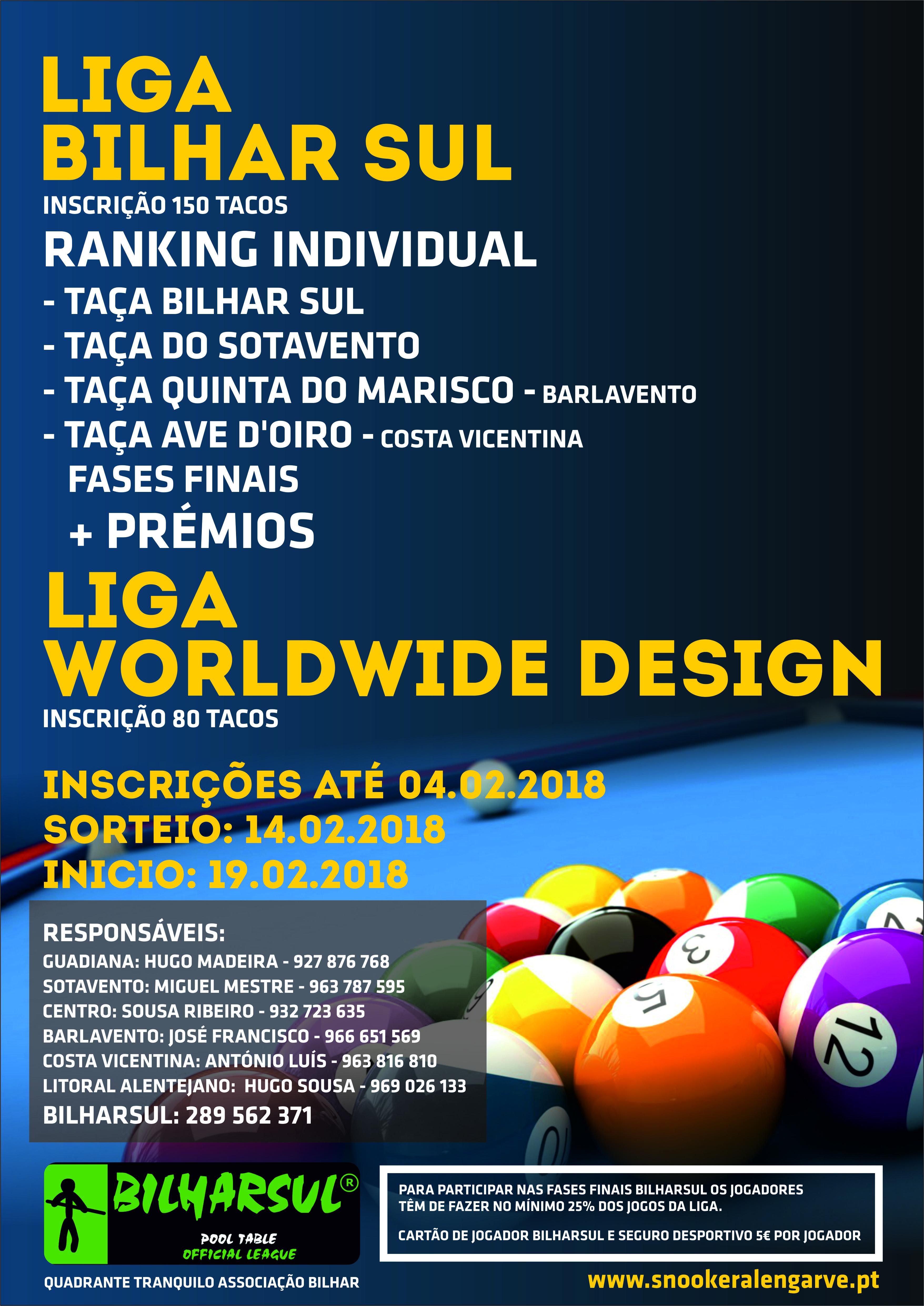 Liga Bilhar Sul / Liga WorldWide Design