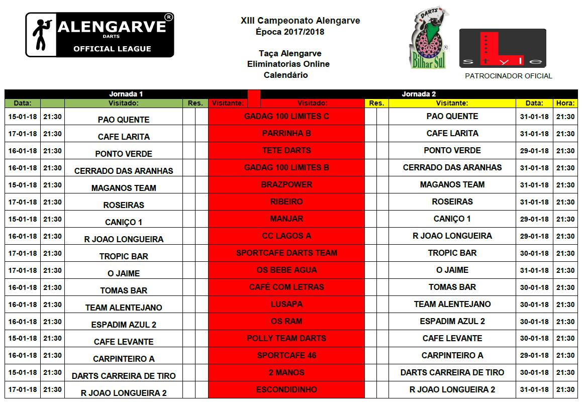 Taça Alengarve 2017/2018